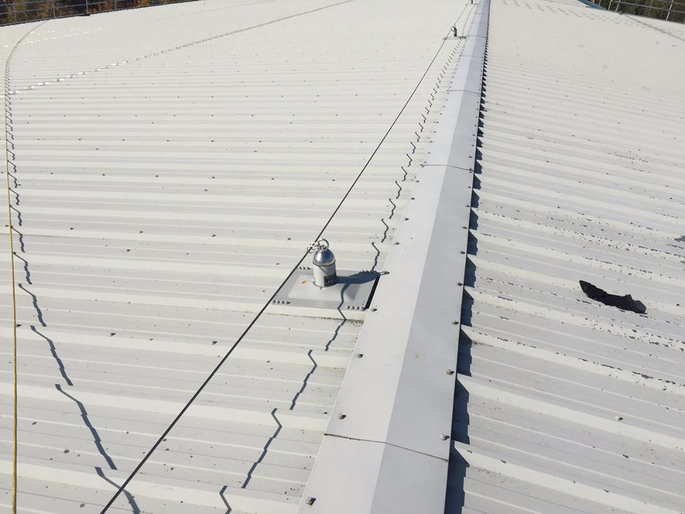 Absolute Roofing Fixed Ladder Access Roof Hatches And
