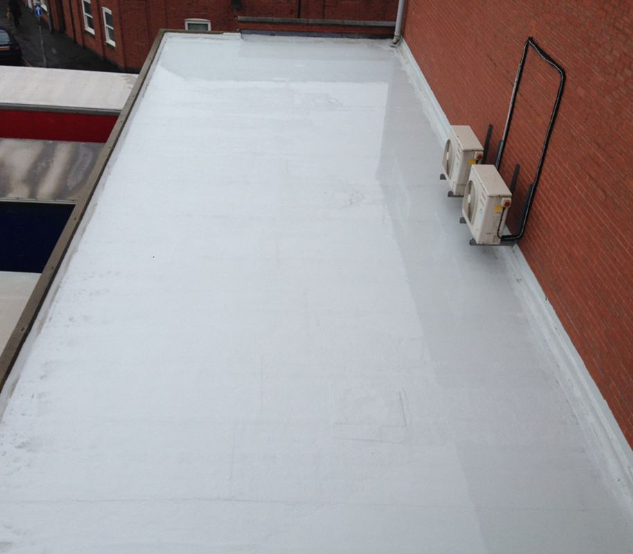 Liquid Coating Flat Roofs
