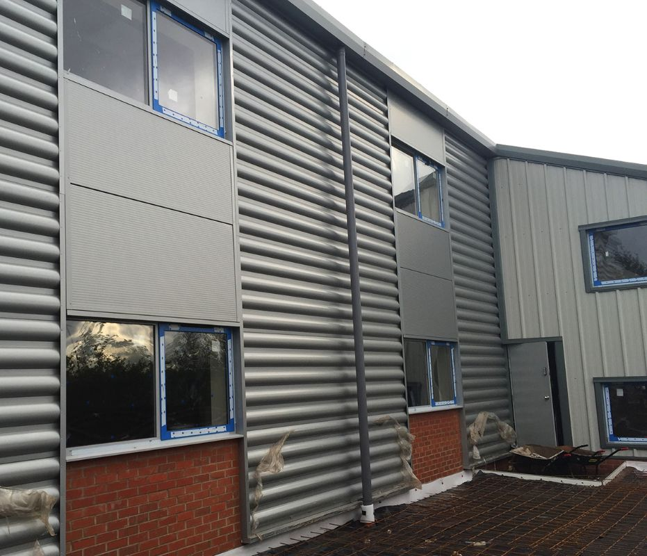 Curved Cladding
