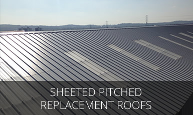 Sheeted Pitched Replacement Roofs